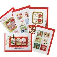크리스마스카드/성탄절/트리/산타 Christmas 시즌카드 (FS111 5set)
