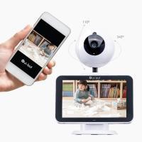 상하좌우 사각지대없는 홈 CCTV 일체형 홈캠 웹캠 위봇