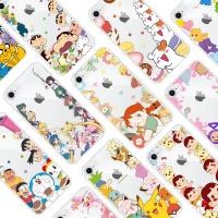 아이폰11 프로 맥스 정품 캐릭터 패턴 클리어 케이스