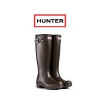 [Hunter] Original Wellington Boots (Chocolate)