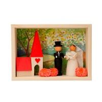 [GRAUPNER] BRIDAL COUPLE CONGRATULATIONS BOX