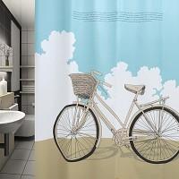 자전거여행(샤워커튼)