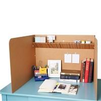 [무료배송] 공부집중 책상칸막이 (상단선반형)