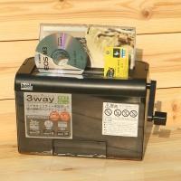 CD,카드까지 3Way Multi-나카바야시 꽃가루형 수동 문서세단기 HF812