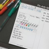 Iciel The daily life (M) - 스터디 플래너 (10분공부)