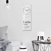 [티볼리] 인테리어 벽걸이 시계 (20x60) 독일직수입
