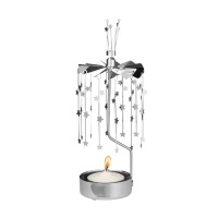ROTARY CANDLE HOLDER SMALL STAR