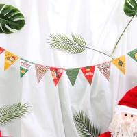 페이퍼 크리스마스 삼각가랜드(아이콘)