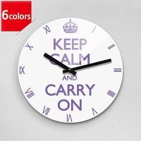 Reflex KEEP CALM- 6 color 무소음벽시계(대) KWR280