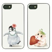 아이폰8플러스케이스 수채화동물 스타일케이스