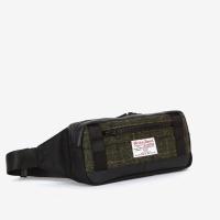 [sweetch] WAIST BAG X HARRIS TWEED Khaki