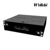 웰치 [초특가] 3구 인덕션 전기렌지 + 판넬