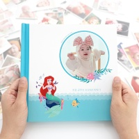 [편집대행] 0808 포토북 - 디즈니 인어공주