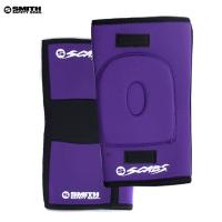 [SMITH] SCABS KNEE GASKET HORSESHOE PADS (Purple)