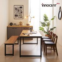 [이노센트] 리브 투게더 6인 LPM 식탁세트(의자/벤치)
