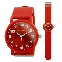 NEXTIME 6013 Dash Red Watch