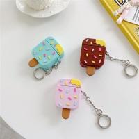 에어팟 링 케이스 1/2/프로 파스텔 아이스크림 실리콘