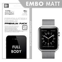[프로텍트엠/PROTECTM] 애플워치 Apple Watch 레볼루션쉴드 엠보팩 지문방지 전신보호필름+액정보호필름