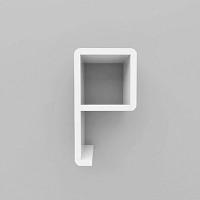 미니큐빅스 이니셜 벽선반-P