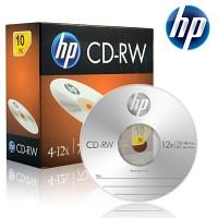 HP 공CD-RW 700MB 4-12x 슬림 케이스 10장