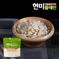알긴산화이버 현미플레인 즉석밥/곤약밥 100g
