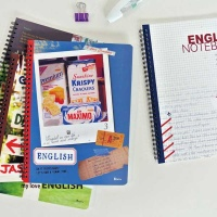 비팬시 영어 스프링노트 중고등 영어공책 학생