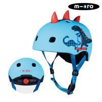 마이크로킥보드 아동용 헬멧 디럭스 V2 3D공룡 M