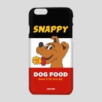 [어프어프] 하드케이스 Snappy dog-black