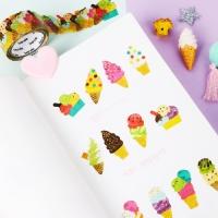 [인디고샵] 반데 달달 캔디 아이스크림 마스킹 테이프