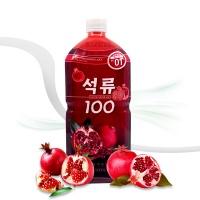 [엠제이] 석류 100 착즙원액 주스 1000ml