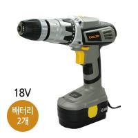 툴콘 충전 햄머 드릴18V(배터리 2개) TC-1800HM(B2)