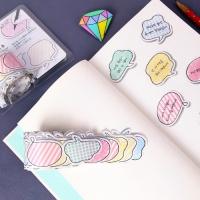 [인디고샵] 반데 색연필로 칠한 말풍선 마스킹 테이프