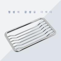 [대림바스 호환] 세면기 매립형 스텐 비누대