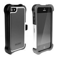 [충격완벽보호 볼리스틱 케이스] BALLISTIC SG MAXX iPHONE 5 (Charcoal/White) [완벽하게 스마트폰 보호 소재]