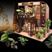 [adico]DIY 미니어처 풀하우스 - 커피하우스