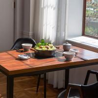 [채우리] 엔터 인덕션 식탁 테이블