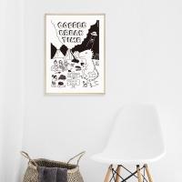 [카멜앤오아시스] Coffee Break Time 공룡 포스터