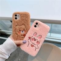 아이폰12 미니 11 pro max 곰돌이 토끼/양털 폰케이스
