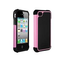 [충격완벽보호 볼리스틱 케이스] BALLISTIC SG iPHONE 4 Univ (Black/Pink) [완벽하게 스마트폰 보호 소재]