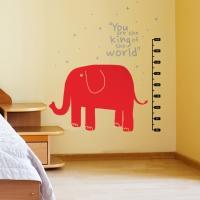 코끼리키재기 (반제품A) 시트지 그래픽스티커
