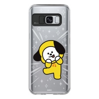BT21 Galaxy S8 / S8 Plus 치미 라이팅 케이스 (Soft 타입)
