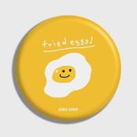 [어프어프] 손거울 Fried eggs-yellow