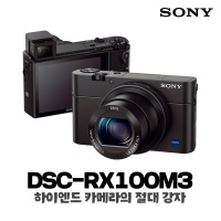 소니 사이버샷 하이엔드 카메라 DSC-RX100M3
