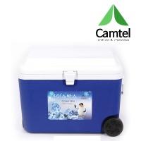 캠텔 AS5000 50리터 대용량 아이스박스 캠핑용 블루