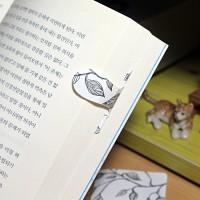 [플라스틱 and 자석 자동책갈피] 자동책갈피 수지인 : 수채 나뭇가지