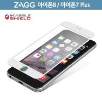 ZAGG 아이폰 8 / 7 플러스 풀커버 자체복원 강화유리