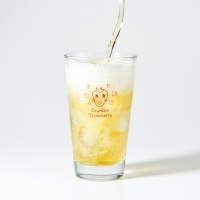 [타이드] 드렁큰후르츠 딸기 맥주잔 홈카페컵 (410ml)