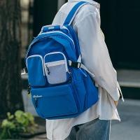 [로아드로아]ROIDESROIS - HUSH BACKPACK (BLUE) 허쉬백팩 투포켓 PVC 신학기가방