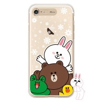 [SG DESIGN] iPHONE78 PLUS 라인프렌즈 SNOW TOGETHER