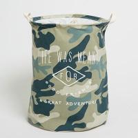 [무료배송] 북유럽풍 패브릭바스켓 밀리 네이비